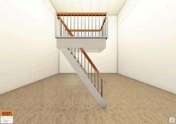 Treppe zum Dachboden Entwurf und Fertigstellung - Tischlerei Albers