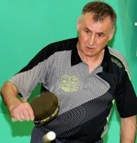 Eckhard Gnendiger (TuS Wirbelau) überzeugte mit zwei Einzelsiegen