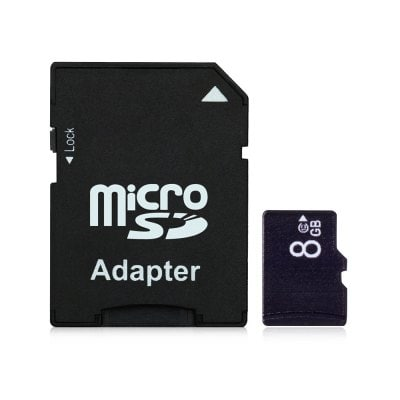 Micro SD / TF Card with Sleeve 15MB/s 5MB/s 8GB 1