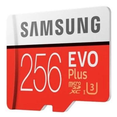 Original Samsung UHS - 3 256GB Micro SDXC Memory Card 1