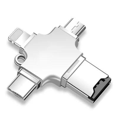Gocomma 4-in-1 USB 3.0 / 2.0 Card Reader 1
