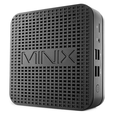 MINIX NEO G41V-4 New Desktop Fanless 4GB DDR4 RAM + 64GB ROM Mini PC Support 3 Screen Display 1