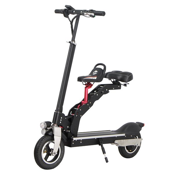Electric Motorcycle Scooter 350W 36V Foldable with Child Seat 1