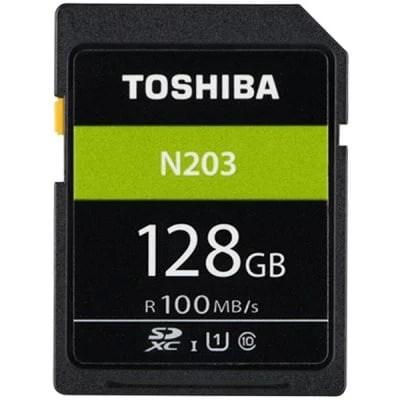 Original TOSHIBA High Speed Memory SD N203 32G 64G 128G C10 SD Card 1