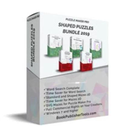 Puzzle Maker Pro - Shaped Puzzles Bundle 2019 1
