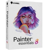 Painter Essentials 8 (Windows/Mac), Painting software for beginners 1