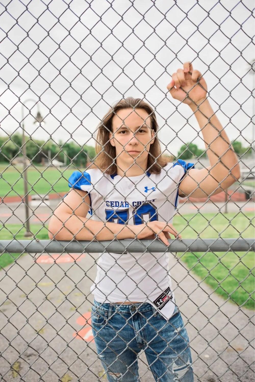 Sports Senior Photoshoot In Harrisburg PA