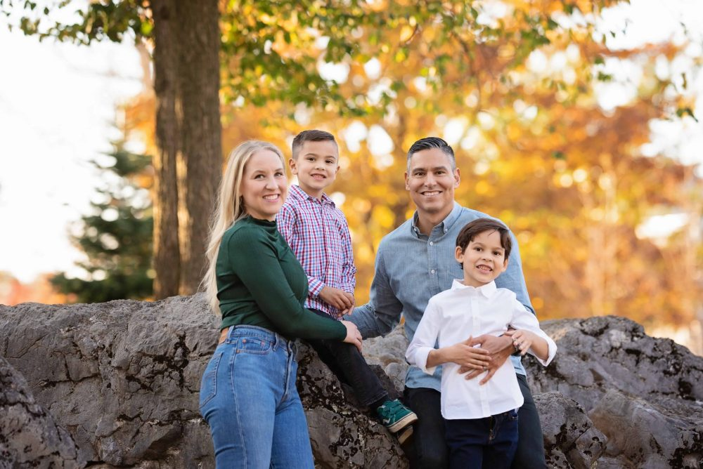 Family Photography At Dickinson College Carlisle PA