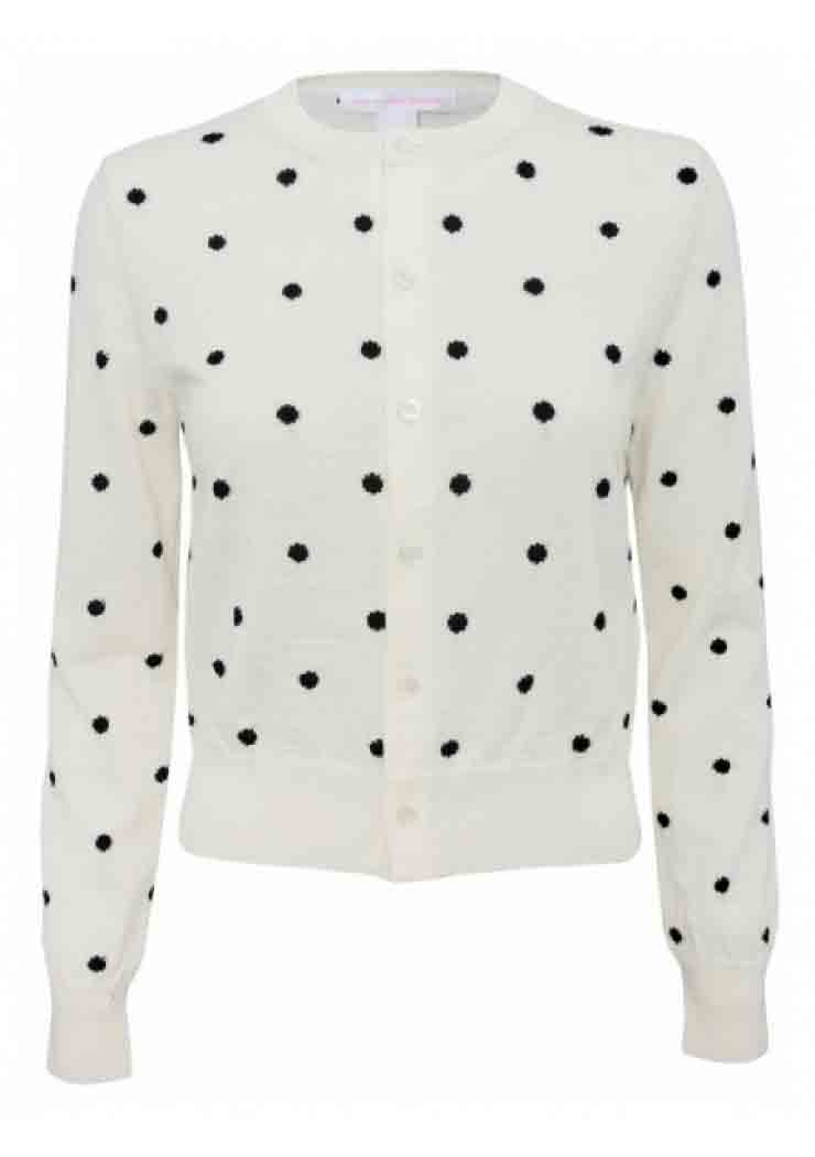 Moschino polka dot sweater