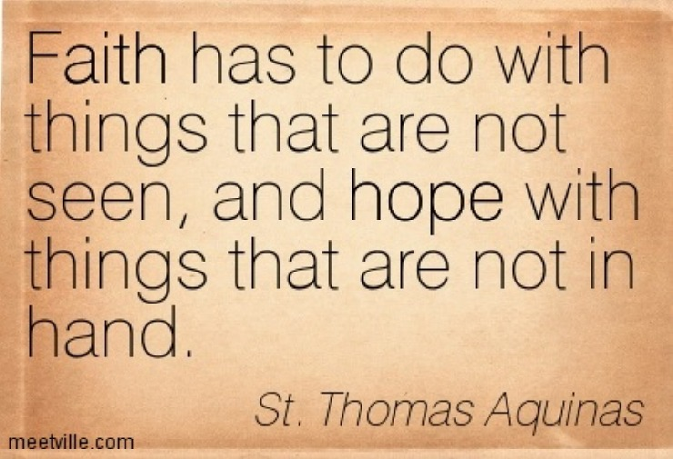 St. Thomas Aquinas quote