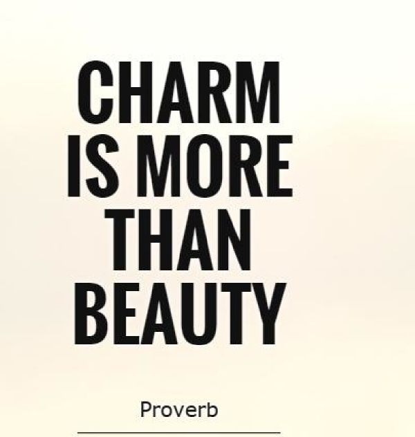 Charm proverb