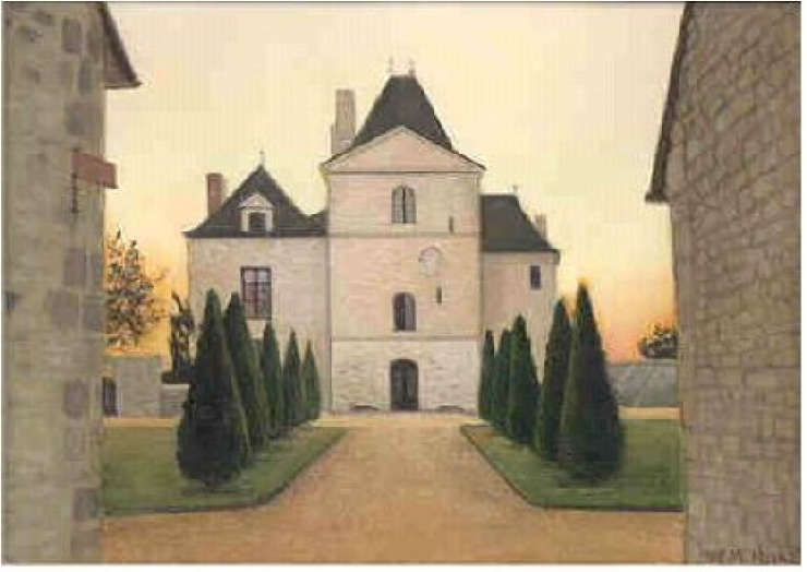 Chateau painting