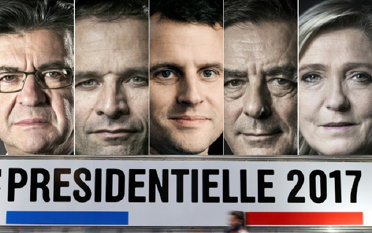 French presidential candidates 2017