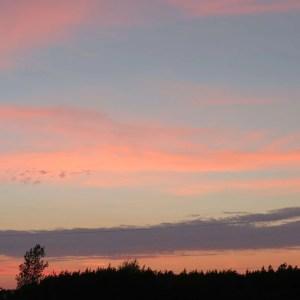 Pretty Sunset Sky