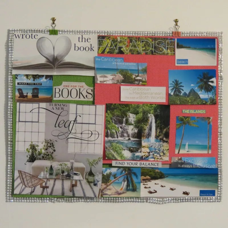 #Tishspiration Tuesday _ The Vision Board Project Part 1 Final Result