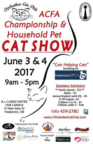 Cat Show Poster