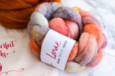 Merino-Soie teint à la main toujours chez Lanae