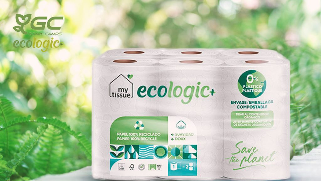 Gomà-Camps launches first recycled tissue paper with compostable packaging on market, Gomà-Camps launches first recycled tissue paper with compostable packaging on market