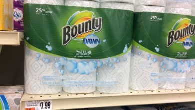 Sales of Dawn and Bounty paper towels are rising, Sales of Dawn and Bounty paper towels are rising