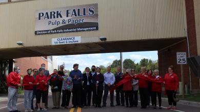 Park Falls Pulp & Paper starts production at paper mill, Park Falls Pulp & Paper starts production at paper mill