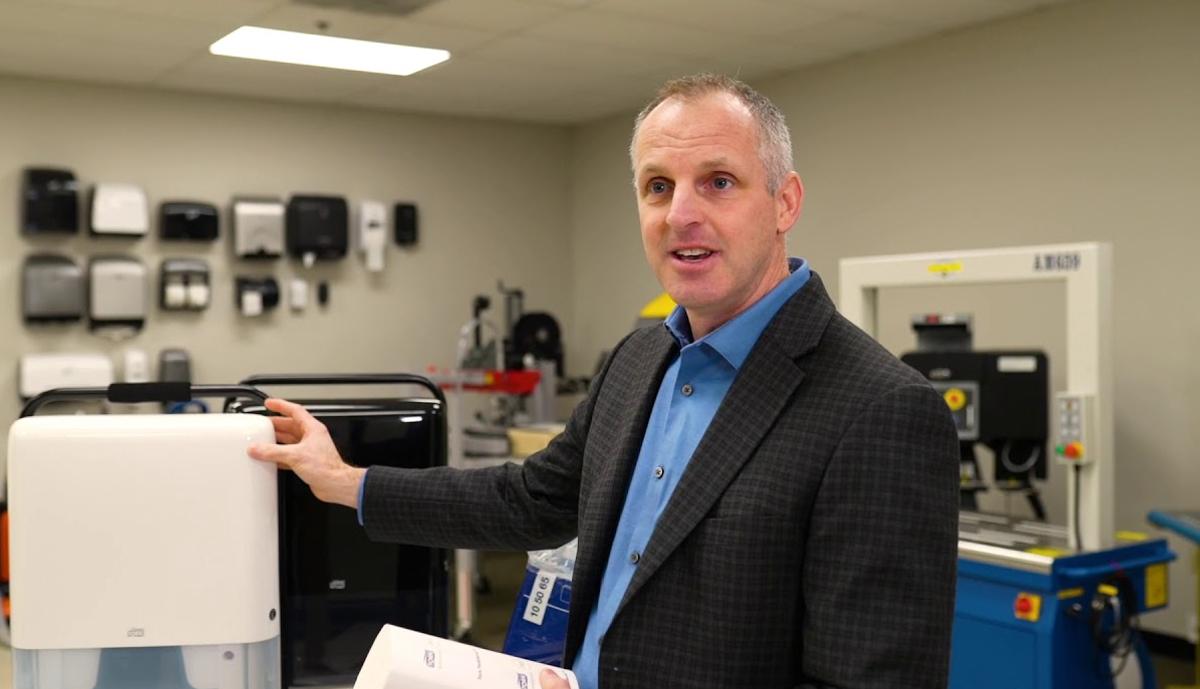 , Essity installs two new Tork PeakServe production lines