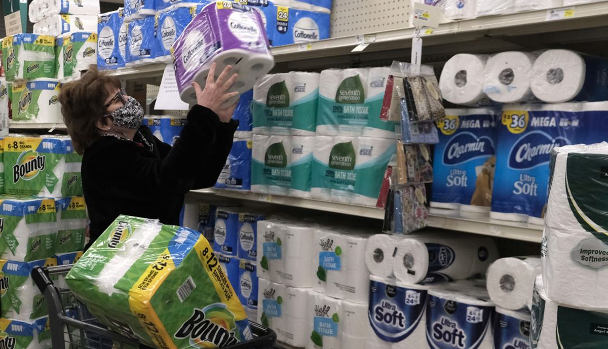 , Paper towels are hard to find again, but are still available in some places