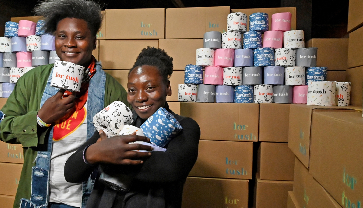 , Baltimore Sisters Make Eco-Friendly Toilet Paper