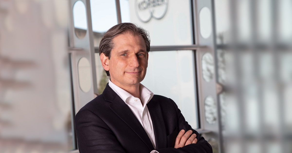 , Giovacchino Giurlani is the new Managing Director of Körber Tissue's Fold Division