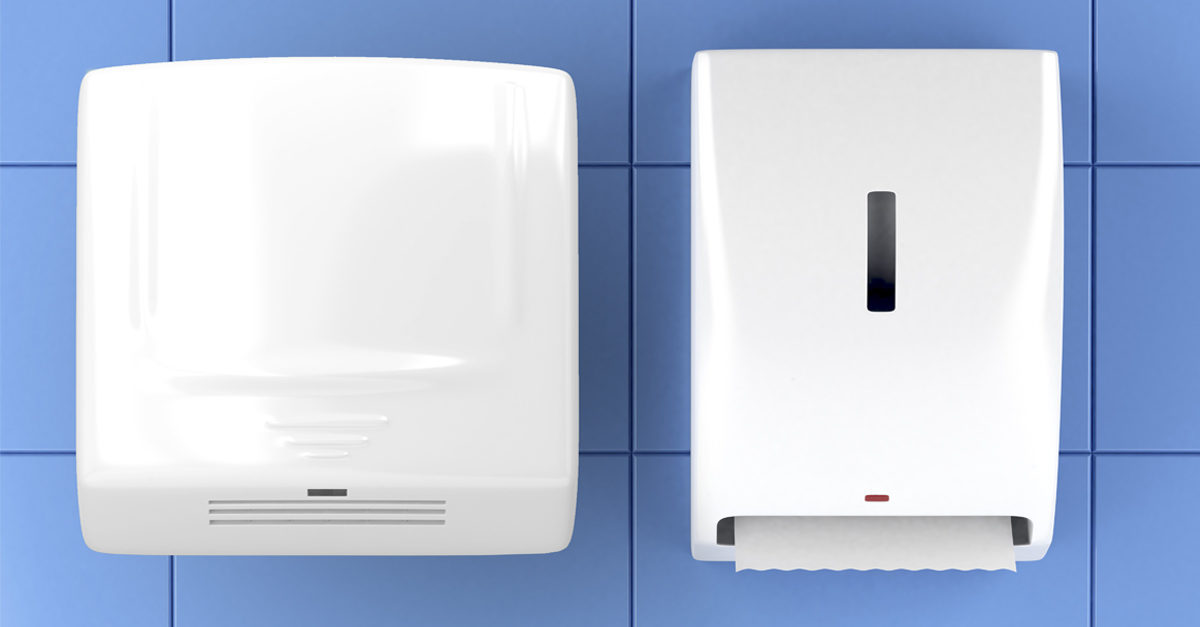 , Hand dryers or paper towels: what is the best option?