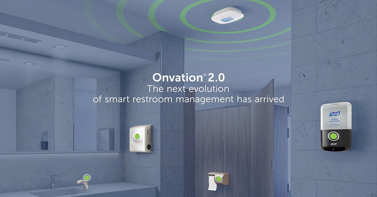 , New York's tallest building has adopted the award-winning Onvation Smart Restroom solution