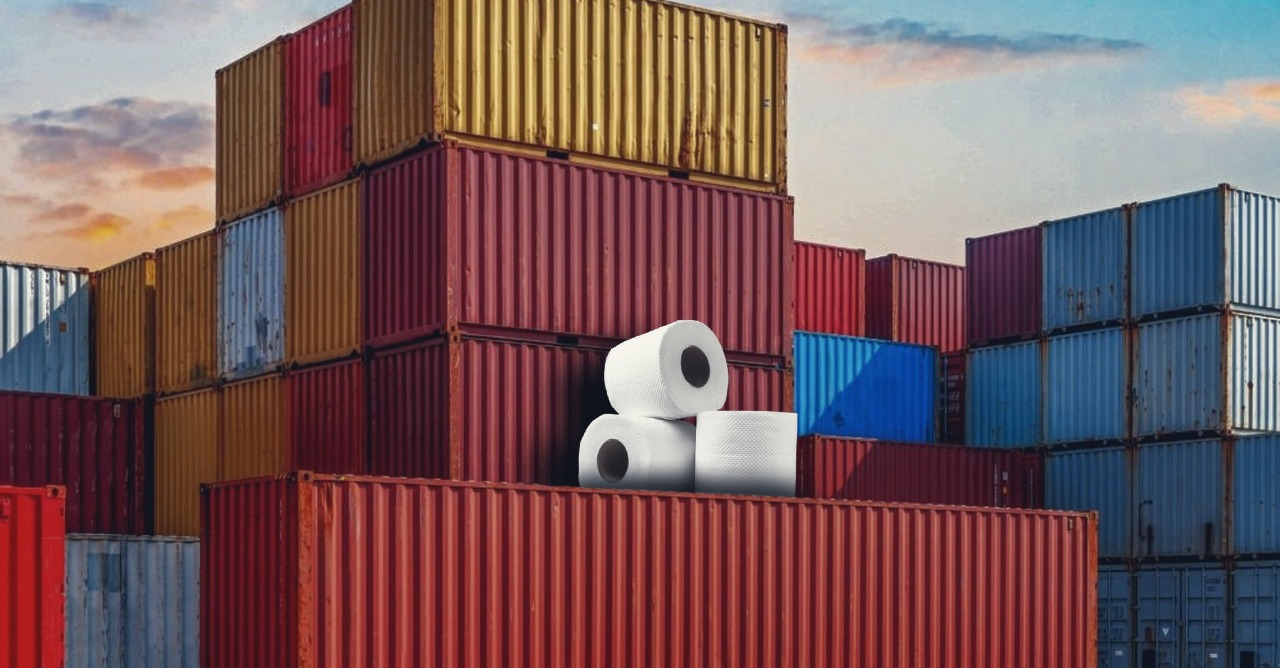 , Toilet paper and a likely global container crisis