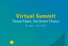, The European Tissue Symposium organizes the Virtual Summit Tissue Paper, the Smart Choice