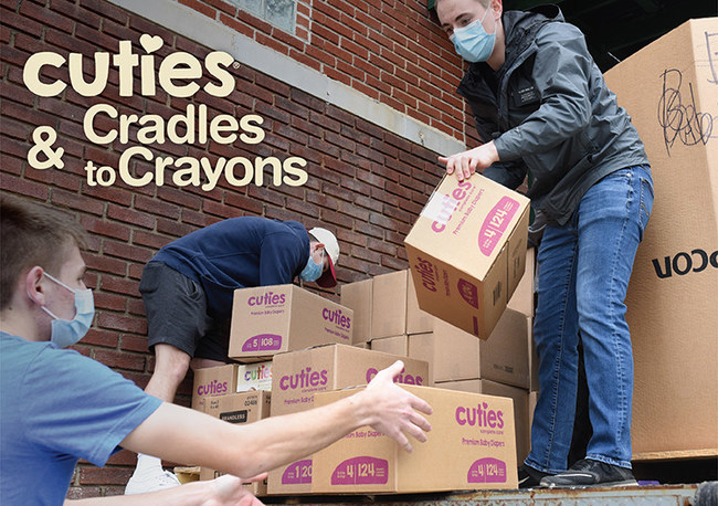 , First Quality Teams Up with Cradles to Crayons to Address Urgent Need for Diapers