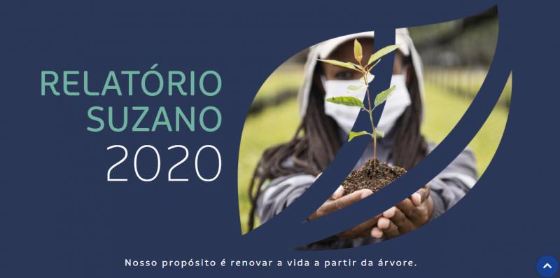 , Brazilian pulp company, Suzano, publishes 2020 Annual Report