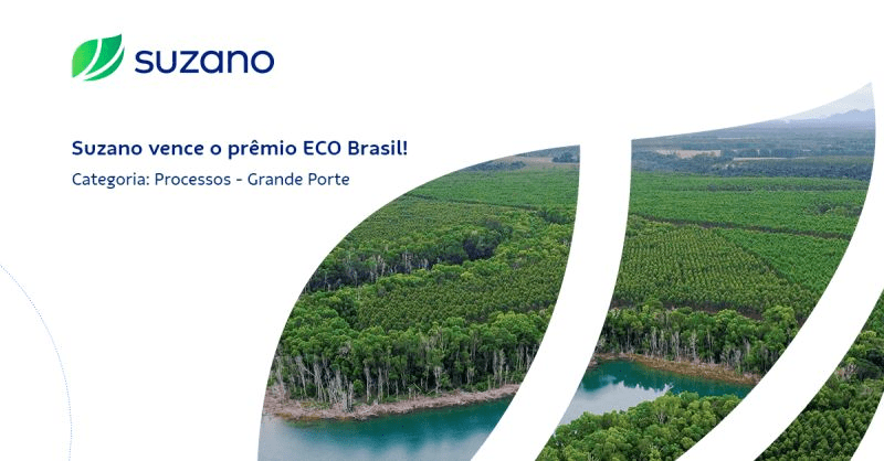 , Suzano is recognized with the ECO Award for its sustainable practices