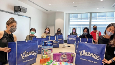 K-C Singapore partnered with the social service agency to donate care packages to senior citizens