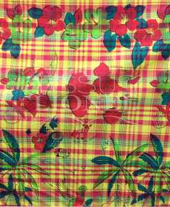 COTTON MADRAS PRINTED 054