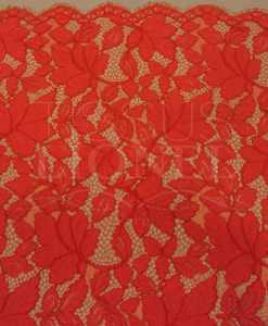 Кружева вышитые красным 1
