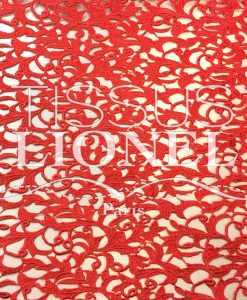 Guipure Versailles Rouge