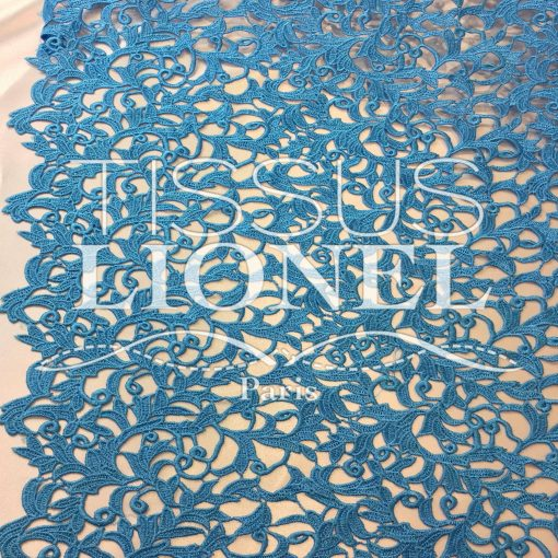 Guipure Versailles Turquoise