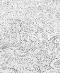 Jacquard-Lurex-Weiss-Silber