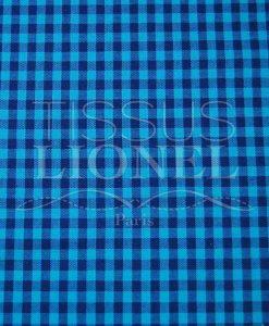 холстинки напечатаны темно-синий хлопок 010