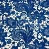 Dentelle guipure quai d'orsay bleu royal