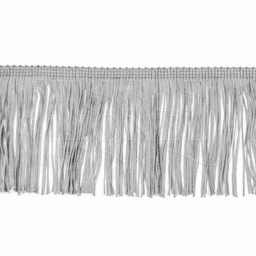 frange 10 cm gris clair