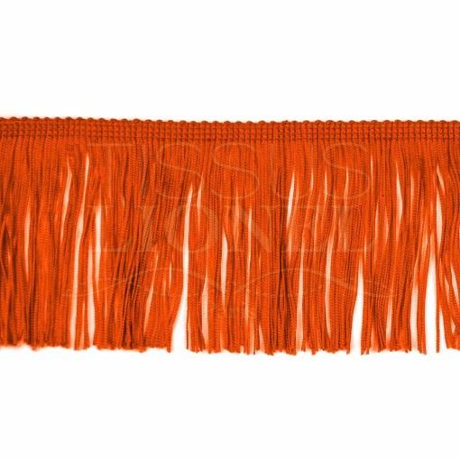 frange 10 cm orange