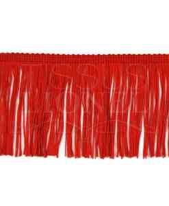frangia 10 cm rosso