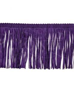 frange 10 cm violet