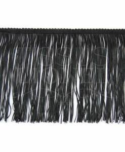 frange 15 cm noir