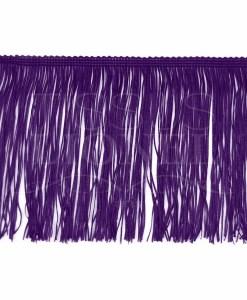 frange 15 cm violet