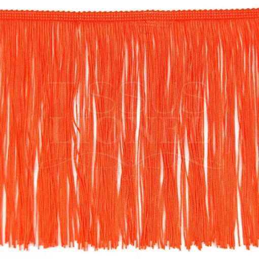 frange 30 cm orange
